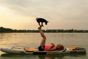 Paddleboard so psom