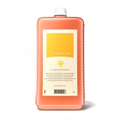 Lososový olej Essential Foods 1l