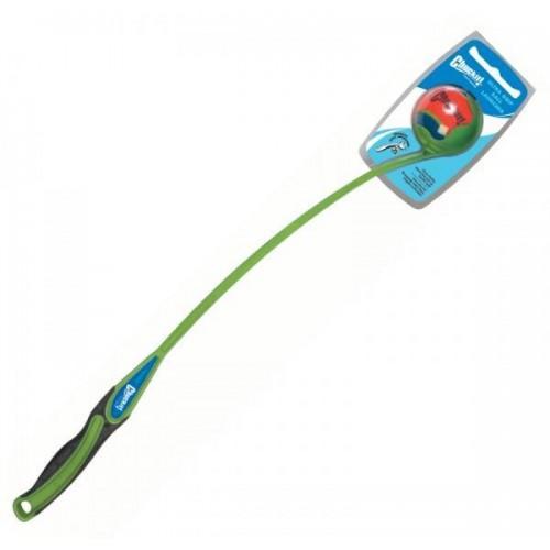 Chuck it! ULTRA zelený vrhač loptičiek