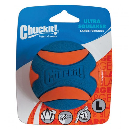 Chuck it! Ultra Squeaker Large loptička
