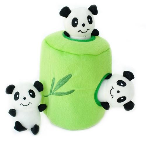 Pandy v bambuse
