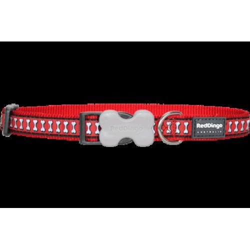 RedDingo Obojok Reflective L červený