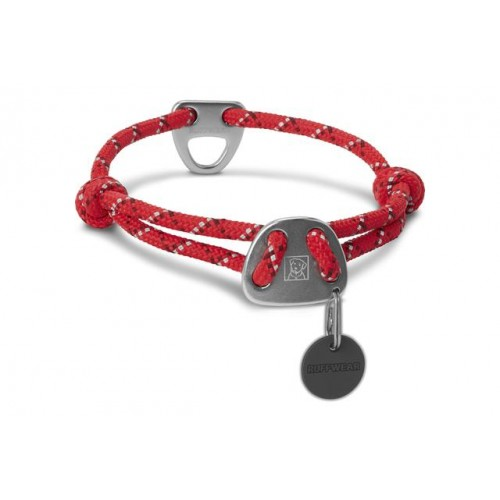 Obojok Ruffwear Knot-a-Collar™ red currant