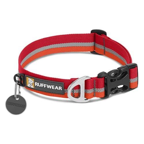 Obojok Ruffwear Crag Collar™ kokanee red