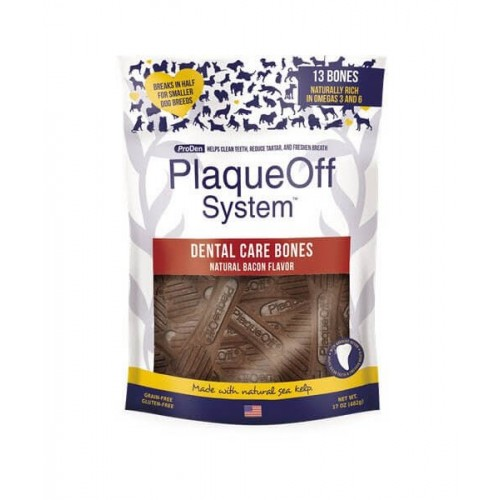 PlaqueOff Dental Bones Slanina 482g